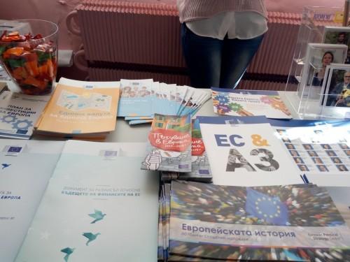 """Ден на езиците с """"Европа директно"""" в ЕГ """" Иван Вазов"""""""