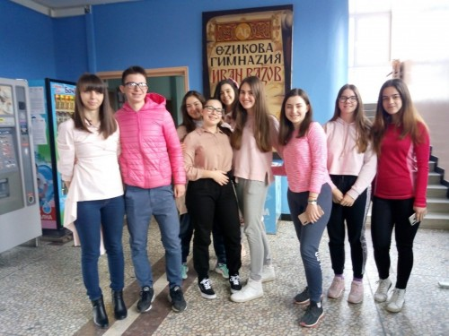"""ЕГ """"Иван Вазов"""" в розово срещу тормоза в училище"""