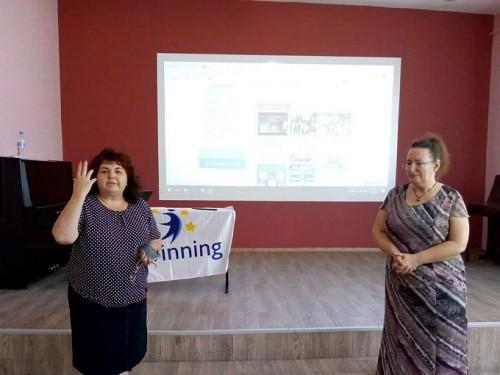 Представяне на eTwinning проекти